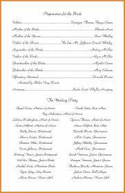 wedding programs exles 5 exles of wedding programs resume reference