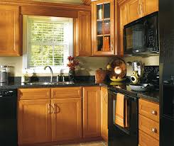 Traditional Kitchen - maple wood cabinets in traditional kitchen aristokraft