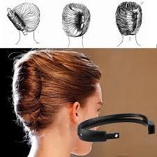 bun holder women magic hair styling updo donut bun maker holder tool shaper