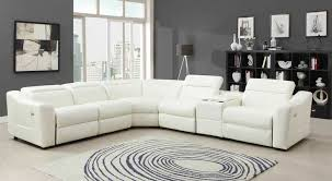 White Leather Recliner Sofa Beautiful White Leather Recliner Sofa Julius Leather Power Motion