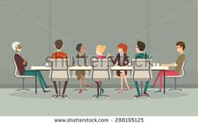 Conference Meeting Table Conference Room Stock Images Royalty Free Images U0026 Vectors