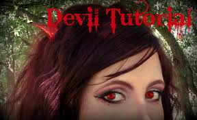 devil halloween make up devil makeup tutorial halloween costume idea with hair and nails