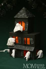 easy diy halloween craft tissue box haunted house u2022 mom behind