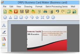 Business Card Creator Software Free Download Visiting Card Design Software Backstorysports Com