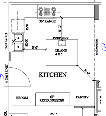 kitchen island plan fresh inspiration 11 kitchen floor plan layouts with island 17