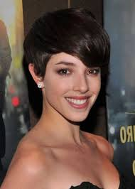 katie holmes short pixie hairstyle popular long hairstyle idea