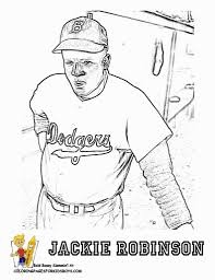 jackie robinson coloring page regarding motivate to color an