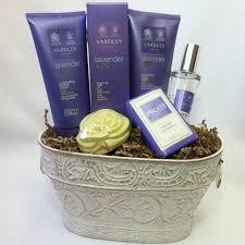 spa gift basket yardley lavender spa gift basket