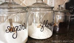 what s on my kitchen counter tops sharpie glass canisters and jar