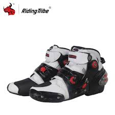 white motorcycle boots popularne white motorcycle boots kupuj tanie white motorcycle