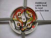 one way lighting junction box