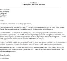 sample cover letter job application electrician