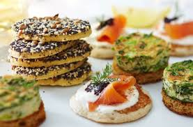 baked canapes gluten free herb omelette canapes tesco food