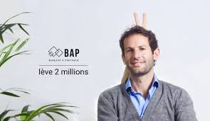 bureaux a partager levée de fonds 2 millions pour bap bureaux à partager le