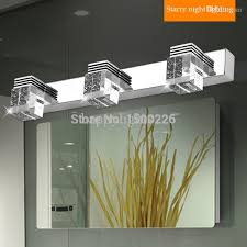 2017 led mirror light 1 2 3 plugs ac 90 260 stainless steel