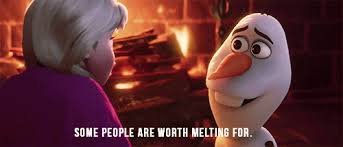 film quotes from disney gif love christmas winter truth people film quote disney snowman