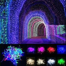50m 100m indoor outdoor led strip string light for christmas tree