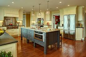 farmhouse kitchen with a future fine homebuilding a new doorway to the dining room facilitates traffic flow and entertaining a large number of friends and family the open floor plan and well placed