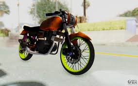 honda cg honda cg125 roadrace for gta san andreas