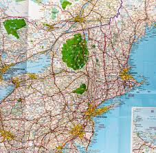 map usa and canada map of ne usa and canada major tourist attractions maps