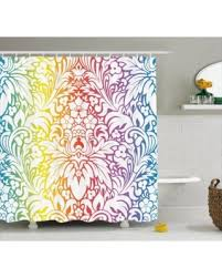 amazing cyber monday savings on floral shower curtain colorful