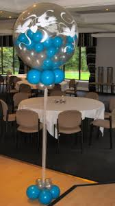 Balloon Centerpieces For Tables Ideal Size For Single Round Balloon Centerpieces
