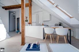 attic interior design of an apartment in gliwice by superpozycja