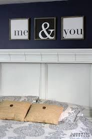 master bedroom rustic wall decor bling