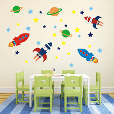 outer space wall sticker set by mirrorin notonthehighstreet com outer space wall sticker set