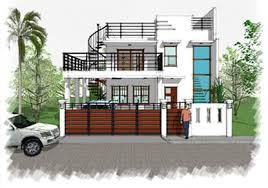 sa 2 storey w roofdeck house designer and builder