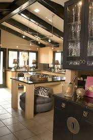 Sloped Ceiling Lighting Sloped Ceiling Lights Kitchen Eclectic With Floor Cushions Table