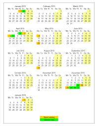 printable 2016 calendar with bank holidays calendar template 2018
