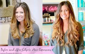 clip in hair extensions before and after everything you need to about clip in hair extensions
