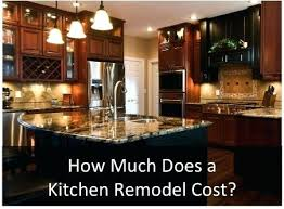 kitchen remodel costs u2013 fitbooster me