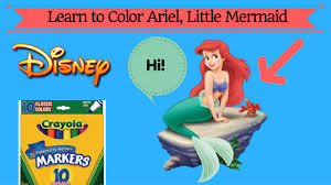 the little mermaid coloring book pages ariel disney learn to