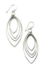 most hypoallergenic earrings sterling silver hypoallergenic earrings multi teardrop dangle