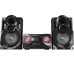 panasonic blu ray home theater system buy panasonic sc akx400ebk wireless megasound hi fi system black