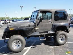 93 jeep wrangler 1993 black jeep wrangler renegade 4x4 32340681 gtcarlot com