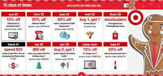 target black friday doorbusters only instore 10 days of deals live now