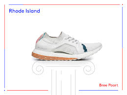 Rhode Island travel shoes images Adidas ultraboost sneaker artists designs 50 states usa PNG