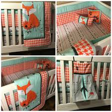 Woodland Nursery Bedding Set by Baby Cribs Sets The Peanut Shell 4 Piece Baby Boy Crib Bedding