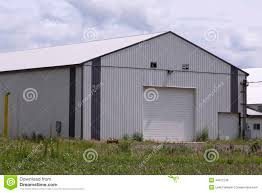 large modern barn stock photo image 44812736