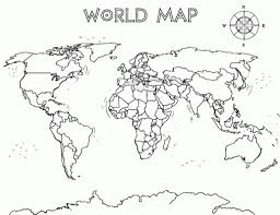 World Maps Printable by Map Coloring Pages Coloringsuite Com