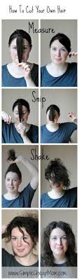 cut your own hair with clippers women the 25 best trim your own hair ideas on pinterest diy haircut