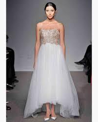 Gorgeous Wedding Gowns Martha Stewart by Gold Wedding Dresses Fall 2012 Bridal Fashion Week Martha