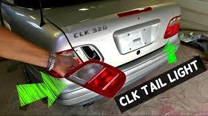 mercedes light replacement mercedes clk w208 trunk lid light brake light assembly