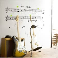 online get cheap life size wall stickers aliexpress com alibaba 1set large size 70 120cm music sticker music is my life theme music bedroom decor