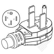 wiring diagrams 30 amp 208 volt twist lock receptacle 4 prong to
