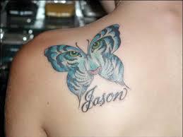 butterfly name tattoos gettattoosideas com s largest