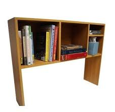 amazon com the college cube desk bookshelf beech color